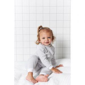 Set van 2 Feetje Pyjama's Wafel Grey Maat 56 t/m 86