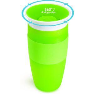 Antilekbeker Munchkin Miracle Sippy Cup Big Green 414ml