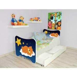 Kleuterbed Top Beds Happy 160x80 Sleeping Teddy Incl. Matras + Bedlade