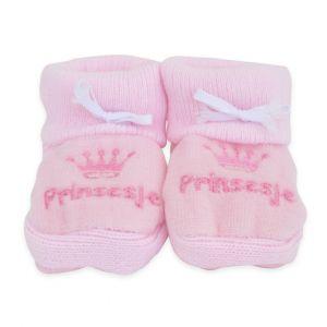 Babyslofjes | Prinsesje | Roze