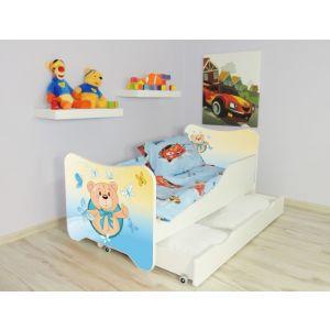 Kleuterbed Top Beds Happy 160x80 Teddybeer Incl. Matras + Bedlade