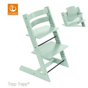 Kinderstoel Stokke® Tripp Trapp® Soft Mint + Babyset