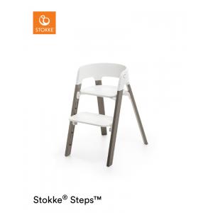 Kinderstoel Stokke® Steps™ 349702 White/Hazy Grey