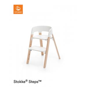 Kinderstoel Stokke® Steps™ White / Natural
