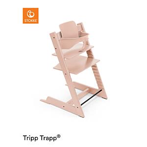 Kinderstoel Stokke® Tripp Trapp® Serene Pink + Babyset