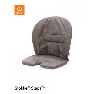 Stoelverkleiner Stokke®  Steps™ Baby Grey Geometric Grey