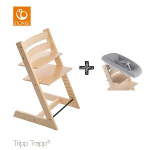 SET | Kinderstoel Stokke® Tripp Trapp® Natural met Newbornset