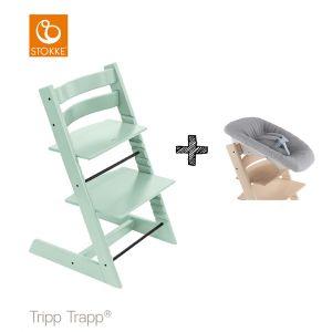 SET | Kinderstoel Stokke® Tripp Trapp® Soft Mint met Newbornset
