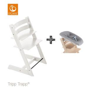 SET | Kinderstoel Stokke® Tripp Trapp® White met Newbornset