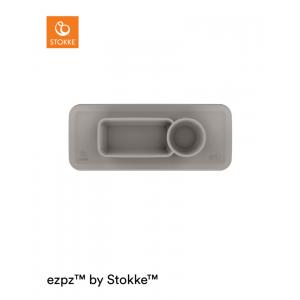 Placemat Stokke® Eetblad Tray Soft Grey voor Clikk