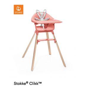 Kinderstoel Stokke® Clikk Sunny Coral