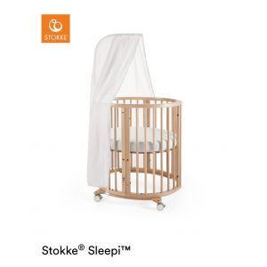 STOKKE® SLEEPI™ Mini Bed Naturel + gratis piekstok en sluier
