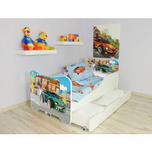 Kleuterbed Top Beds Happy 160x80 Super Car Incl. Matras + Bedlade