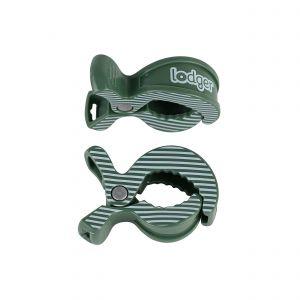 Swaddler Clip Lodger Green Bay Stripe 2st.