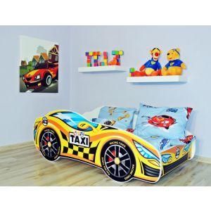 Kleuterbed Top Beds Racing Car 160x80 Taxi Incl. Matras