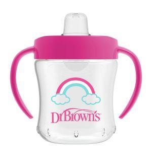 Dr. Brown's Drinkbeker 180ml Roze