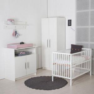 Babykamer Tess (Commode + Open Ledikant)