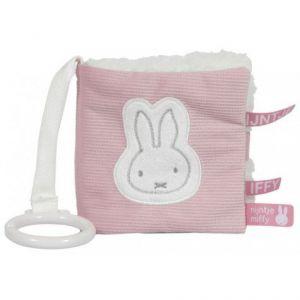 Tiamo | Buggyboekje Nijntje - Pink Baby Rib