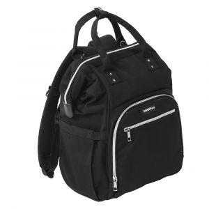 Luiertas Titanium Baby Mommy Sports Bag Black