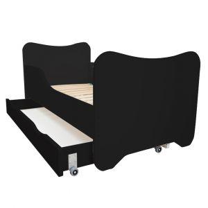 Bedlade Voor Peuterbed Top Beds Happy 140x70 Black