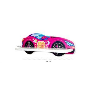 Wandrek Top Beds Racing Car Pink