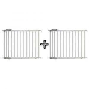 SET | 2x  Traphek Safety 1st. Dual Close Wood White