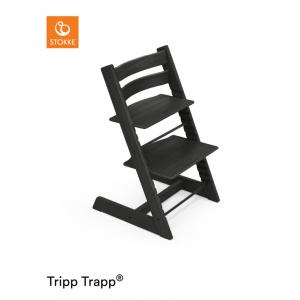 Kinderstoel Stokke Tripp Trapp Oak Black