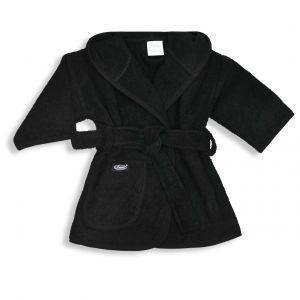 Badjas Uni 1-2 jaar Zwart