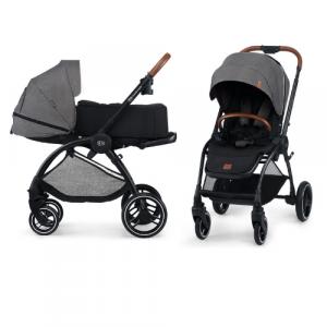 Kinderwagen Kinderkraft Evolution Cocoon 2-in-1 Platinum Grey