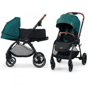 Kinderwagen Kinderkraft Evolution Cocoon 2-in-1 Midnight Green