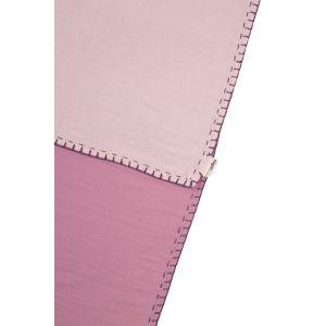 Deken Wieg Cigit Kids Muslin Powder Pink/ Hibiscus