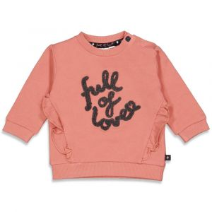 Sweater Feetje FECJUN21 Full of Love Terra Pink