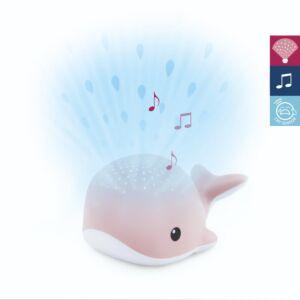 Lichtprojector ZAZU Wally de walvis Pink