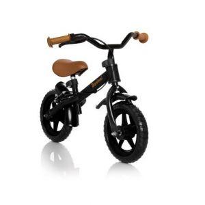 Loopfiets Baninni Wheely Black/Brown