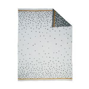 Deken Knitted Blanket Done by Deer 80x100 Happy Dots Grey