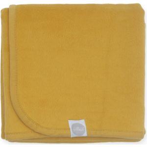 Deken Wieg Jollein 75 x 100 Katoen Mustard