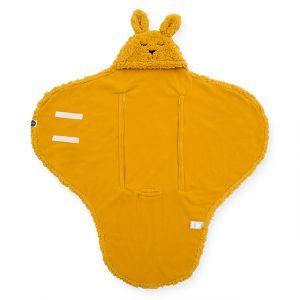 Wikkeldeken Jollein Bunny Mustard
