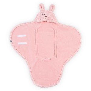 Wikkeldeken Jollein Bunny Pink