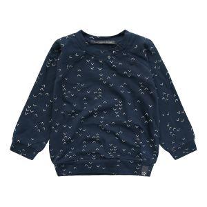 Sweatshirt Your Wishes Waves Deep Navy