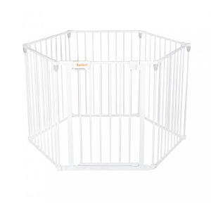 Veiligheidshek Baninni Zita 6-panelen Wit