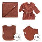 Textielset Funnies 15-delig Copper