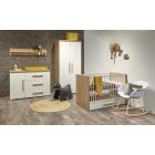 Babykamer Marijn Ledikant met lade + Commode
