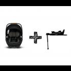 Autostoel Nuna Arra Next Caviar Compatible met Isofixbase 360° Compatible System Next Zwart