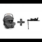 Autostoel Nuna Arra Next Granite Compatible met Isofixbase 360° Compatible System Next Zwart