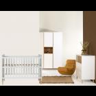 Babykamer Quax Loft White 3-deurskast