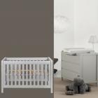 Babykamer Quax Stripes Griffin Grey (Ledikant + Commode)