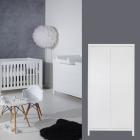 Babykamer Quax Stripes White 2-deurskast