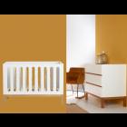 Babykamer Quax Indigo White (Ledikant + Commode)