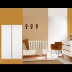 Babykamer Quax Indigo White 2-deurskast