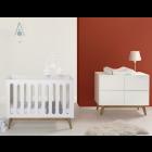Babykamer Quax Trendy White (Ledikant + Commode)